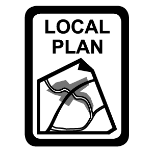 Black icon - Local Plan