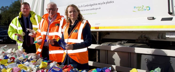 We recycle plastic: Millions of items correctly recycled but call to do even more