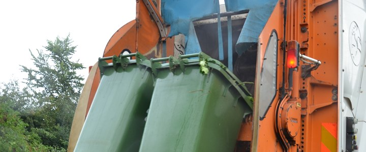 Green bin collections suspended