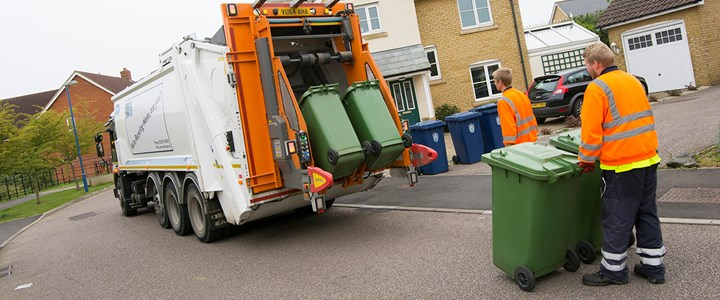 Help your bin crews during the heatwave