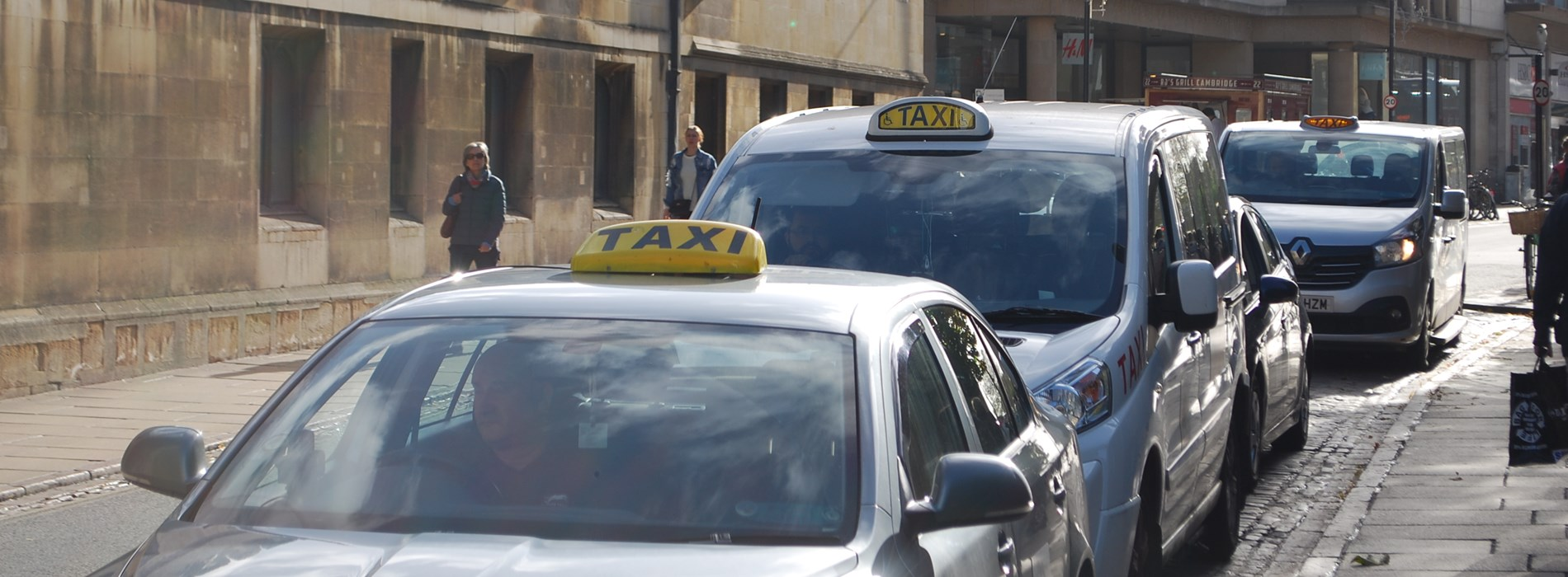 Government taxi and private hire consultation
