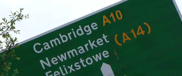 Leading Councillors welcome Combined Authority A10 pledge