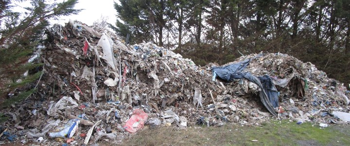 Be 'waste aware' following industrial-scale fly tip