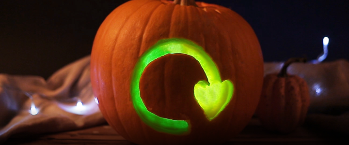 Don't be scared to recycle as much as possible this Halloween!