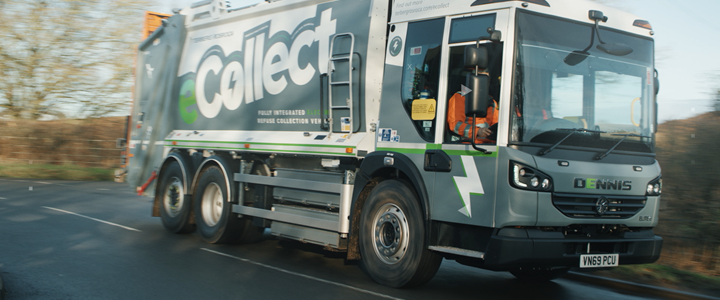 Zero emissions waste collections