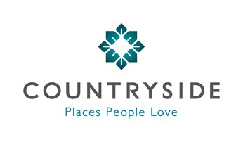 The logo for Countryside. It includes the words 'places people love'