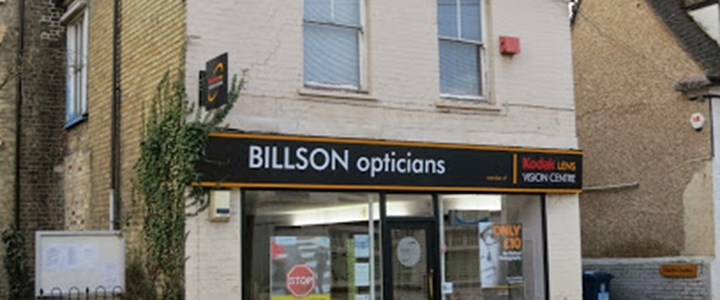 Billson Opticians, Sawston