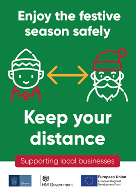 Enjoy the festive season safely - support local businesses