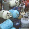 Gas canisters and gas bottles